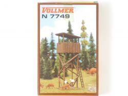 Vollmer 7749 Hochsitz Jägerstand Bausatz Spur N Model NEU OVP