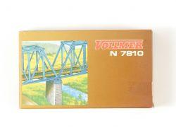 Vollmer 7810 Mittelpfeiler für Brücken Bausatz Spur N NEU OVP