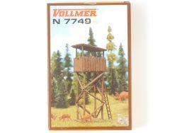Vollmer 7749 Hochsitz Jägerstand Bausatz Spur N Kit NEU! OVP