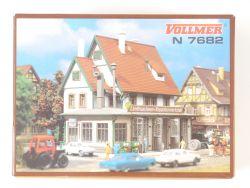 Vollmer 7682 Landmaschinen-Reparaturwerkstatt Bausatz N NEU! OVP