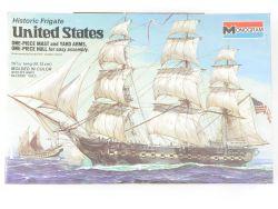 Monogram 3502 Segelschiff United States Bausatz MIB NEU! OVP