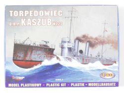 Mirage 40027 Torpedowiec O.R.P. Kaszub Bausatz 1/400 NEU! OVP