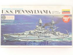 Lindberg 844 USS Pennsylvania US Navy Battleship 1/800 NEU! OVP