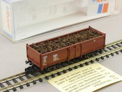 Roco 25551-2 Offener Güterwagen E 52 Ladegut Schutt Spur N OVP ST