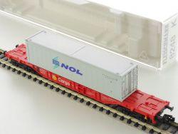 Fleischmann 8248 K Container-Tragwagen Cargo NOL Spur N NEU OVP