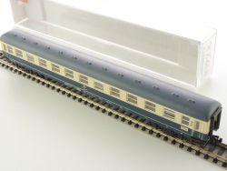 Fleischmann 8192 K Schnellzugwagen Büm 234 2.Kl Beleuchtung OVP