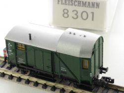 Fleischmann 8301 Güterzug Begleitwagen Pwg Lichtfunktion TOP OVP