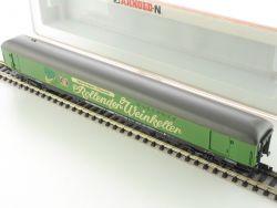 Arnold 3884 Ausstellungswagen Rollender Weinkeller Spur N NEU OVP