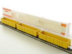 Arnold 0442 C Set 3x Güterwagen Hochbord Eaos 106 Wiebe NEU! OVP