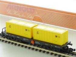 Arnold 4952 Containerwagen 500 Jahre Post Sondermodell SSkms OVP
