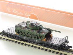 Arnold 4970 Schwerlastwagen Leopard Panzer Ladung SSkms NEU! OVP