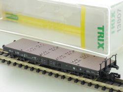 Minitrix 13807 Schwerlastwagen mit Zubehör Rungen Spur N TOP OVP