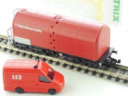 Minitrix 15292 Löschwasserwagen Einsatzfahrzeug Feuerwehr NEU! OVP