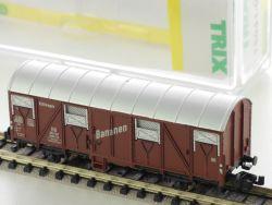 Minitrix 15041-01 Gedeckter Güterwagen Kühlwagen Bananen KKK OVP