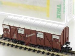 Minitrix 15041-03 Gedeckter Güterwagen Kühlwagen Bananen KKK OVP