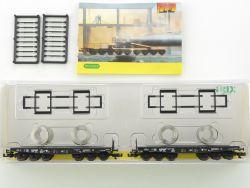 Minitrix 15182 Schwerlastwagen-Set vom Erz zum Stahl DB NEU! OVP