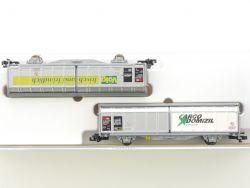 Minitrix 15606 Schiebewandwagen-Set Cargo Volg SBB KKK NEU OVP