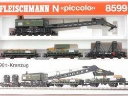Fleischmann 8599 Wagenset Kranzug 8595 8596 8597 859901 KKK  OVP