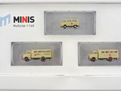 Lemke LC5010 MiNis Malteser-Hilfsdienst MB L322 1:160 Spur N OVP