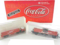 Lemke LC2712 Werbemodell Coca Cola Set Wiking Kato 1:160 N OVP SG