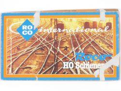 Roco 5004 R Bogenweichen-Set Augleichsstücke Gleise wie NEU! OVP