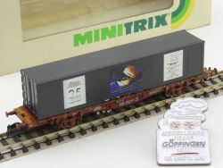 Minitrix 13806 Container Modellbahntreff Göppingen 1997 lesen OVP