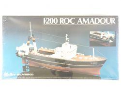 Heller Humbrol 80608 Roc Amadour Trawler Kit 1/200 NEU! OVP