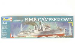 Revell 05082 Destroyer HMS Campbeltown Kit 1/240 NEU! OVP