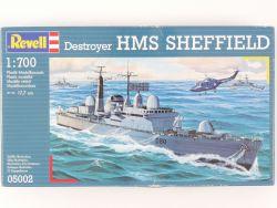 Revell 05002 Destroyer HMS Sheffield Model Kit 1/700 NEU! OVP
