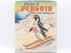 T.N. Nomura nur Leerkarton only empty box Percy Penguin tin
