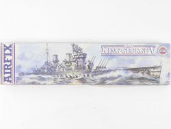 Airfix 06205 HMS King George V Royal Navy Kit 1/600 NEU! OVP