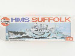 Airfix 03203 HMS Suffolk Royal Navy Model Kit 1/600 NEU! OVP