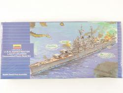 Lindberg 1723 USS Manchester Light Cruiser Kit 1/600 NEU! OVP