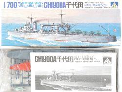 Aoshima WL.E091 Japanese Seaplane Carrier Chiyoda 1/700 NEU! OVP