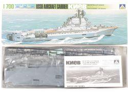 Aoshima WL.A131 USSR Aircraft Carrier Kiev 1/700 Kit NEU OVP