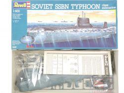 Revell 5066 Soviet SSBN Typhoon Class Submarine 1/400 NEU OVP