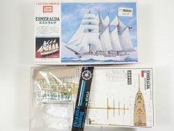 IMAI B-935-1000 4-Masted Bark Esmeralda Segelschiff 1/350 NE OVP