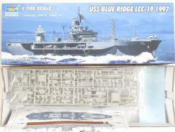 Trumpeter 05715 USS Blue Ridge LCC-19 1997 1/700 Kit NEU! OVP