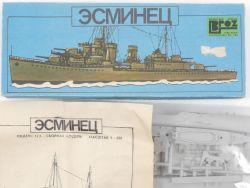 Ogonek Kreuzer Esminets USSR Russia 1/500 Model Kit rare! OVP