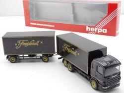 Herpa 147750 Scania R142 Freixenet Getränke-Hängerzug LKW OVP