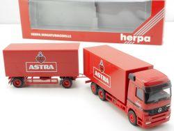 Herpa 147682 Mercedes MB Actros Astra Biertruck Koffer LKW OVP