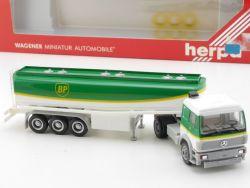 Herpa 826121 MB Mercedes SK 88 BP Tank-Laster Sattelzug NEU! OVP ST