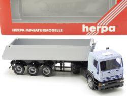 Herpa 144100 Iveco Eurotech Hinterkipper Muldenkipper NEU! OVP