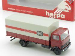 Herpa 814297 MB Mercedes DB Deutsche Bahn Stückgut LKW OVP