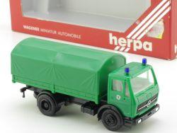 Herpa 806024 MB Mercedes Polizei Pritschenwagen LKW H0 1:87 OVP ST
