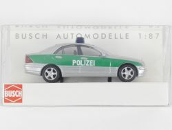 Busch 49111 Mercedes-Benz C-Klasse W 203 Polizei 1/87 NEU! OVP