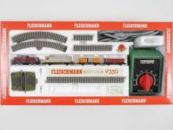 Fleischmann 9350 Starter Set Diesellok 7230 BR 212 DB lesen OVP