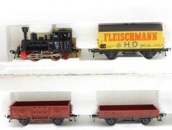 Fleischmann 6365 nur Dampflok Anna DB und 3 Wagen