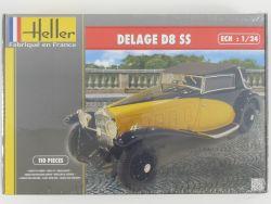 Heller 80720 Delage D8 SS Modell-Bausatz 1/24 Kit NEU Folie OVP