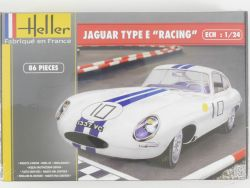 Heller 80783 Jaguar E-Type Racing #10 1/24 Kit NEU in Folie OVP